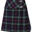 New Ladies MacKenzie Tartan Scottish Mini Billie Kilt Mod Skirt Size 44