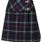 New Ladies MacKenzie Tartan Scottish Mini Billie Kilt Mod Skirt Size 48