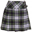 Ladies Dress Gordon Tartan Mini Billie Kilt Mod Skirt sz 28 waist Girls Mini Billie Skirt
