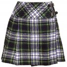 Ladies Dress Gordon Tartan Mini Billie Kilt Mod Skirt sz 44 waist Girls Mini Billie Skirt