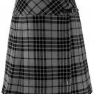 Ladies Gray Watch Tartan Mini Billie Kilt Mod Skirt sz 36 waist Girls Mini Billie Skirt