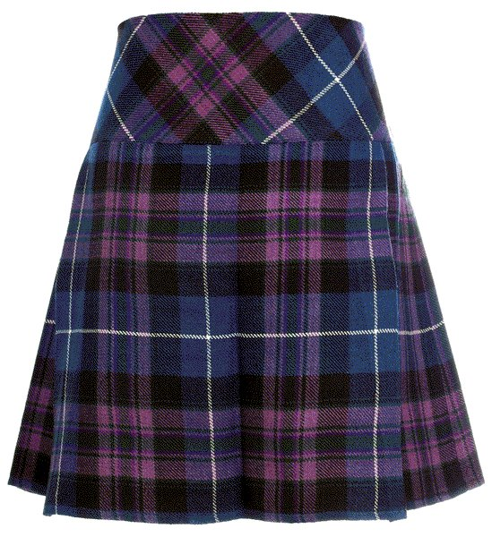Size 42 Traditional Pride of Scotland Tartan Kilts for Women Highland Utility Kilt Ladies