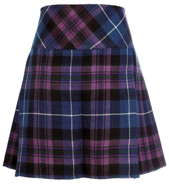 Size 32 Traditional Pride of Scotland Tartan Kilts for Women Highland Utility Kilt Ladies