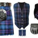 Waist 50 Traditional Highland Scottish Pride of Scotland kilt-Skirt Deal