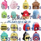 Children's gifts kindergarten boy backpack Plush baby children school bags plush toy bags