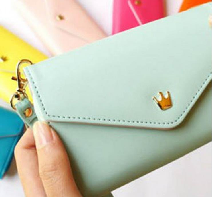 New Multifunctional Envelope Wallet Purse Phone Case for iPhone /samsung phone