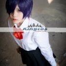 30cm New Arrival Short Purple Synthetic Cosplay Anime Tokyo Ghoul Toka Kirishima Wig