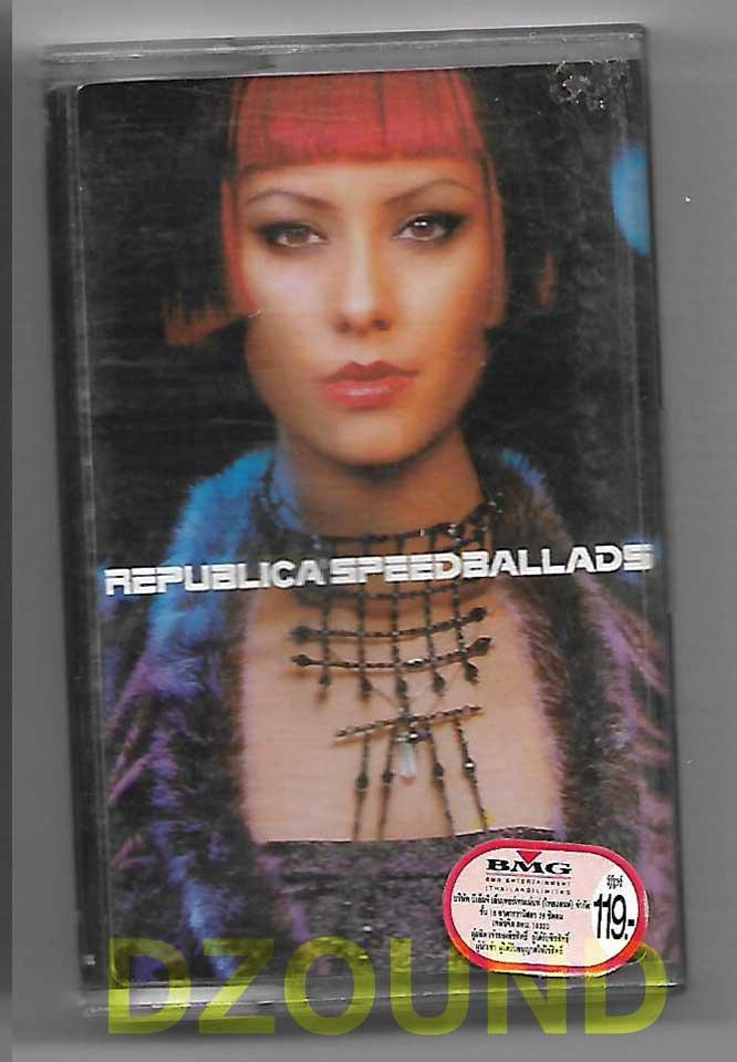 REPLUBLICA - SPEED BALLARDS - CASSETTE 1998