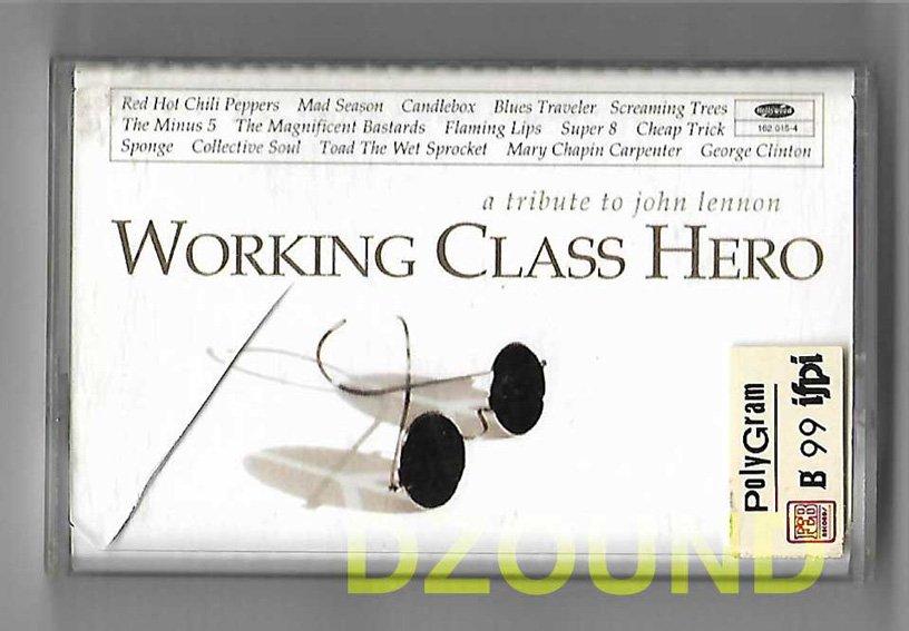 WORKING CLASS HERO - A TRIBUTE TO JOHN LENNON - CASSETTE 1995