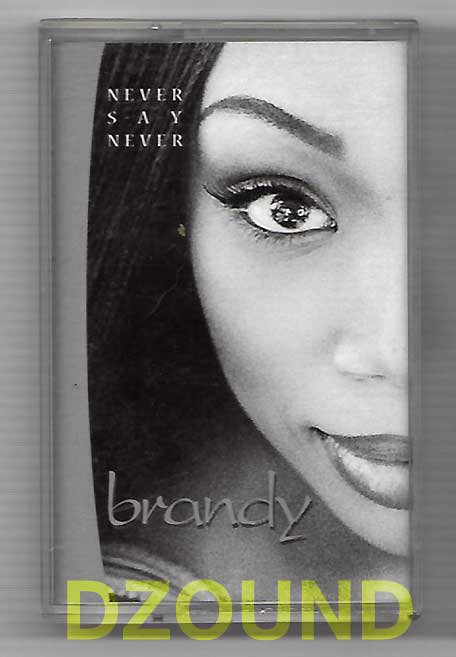 BRANDY - NEVER SAY NEVER - THAI MUSIC CASSETTE 1998