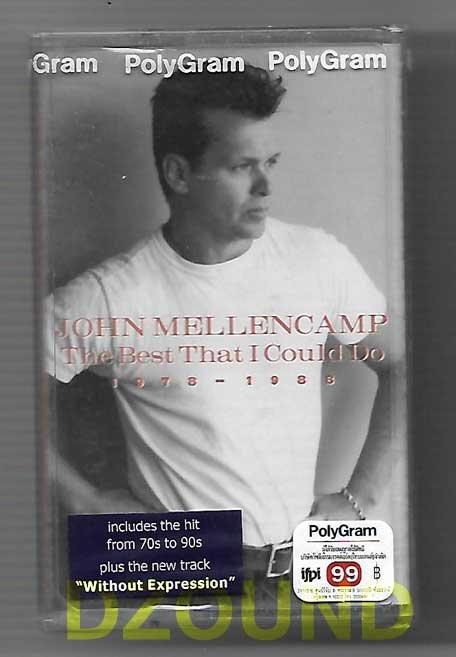 JOHN MELLENCAMP - THE BEST THAT I COULD DO 1978-1988 - CASSETTE  1997