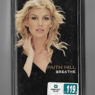 FAITH HILL - BREATHE - THAI MUSIC CASSETTE 1999