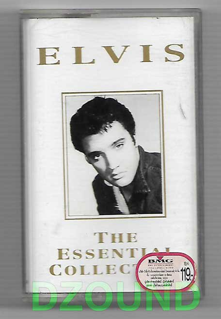 ELVIS PRESLEY -THE ESSENTIAL COLLECTION - MUSIC THAI CASSETTE 1994
