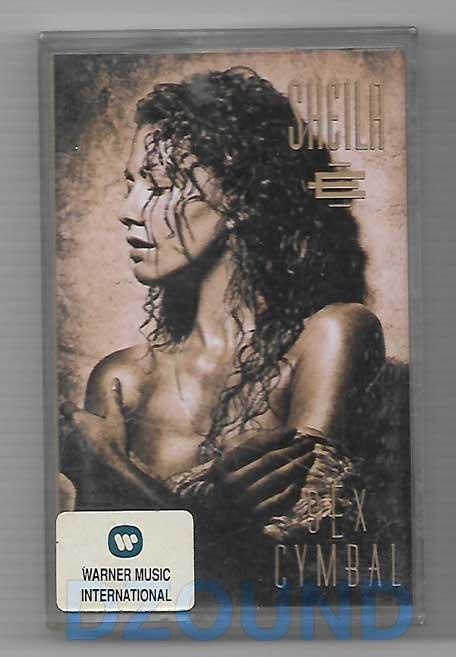 SHEILA - SEX CYMBAL - MUSIC CASSETTE 1991
