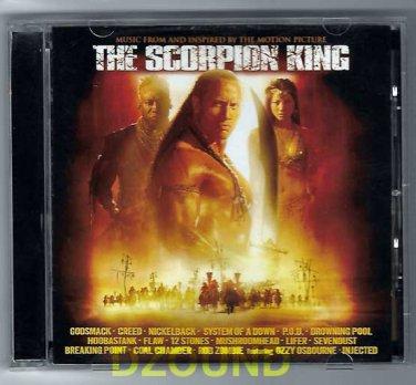 OST -  Scorpion King - Original SoundTrack CD -  Dwayne Johnson