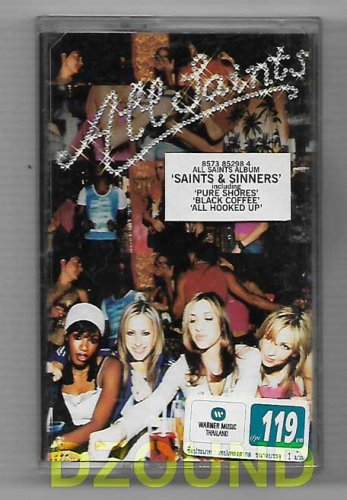ALL SAINTS - SAINTS & SINNERS - THAI MUSIC CASSETTE 2000