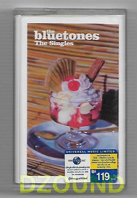 THE BLUETONES - THE SINGLES - THAI MUSIC CASSETTE 2002