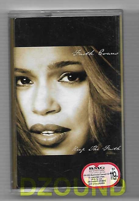 FAITH EVANS - KEEP THE FAITH - MUSIC CASSETTE 1998