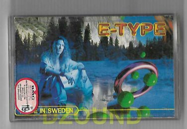 E-TYPE - MADE IN SWEDEN - THAI MUSIC CASSETTE 1994