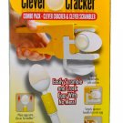 Brand New In Box! As Seen On TV Clever Cracker & Egg Scrambler!