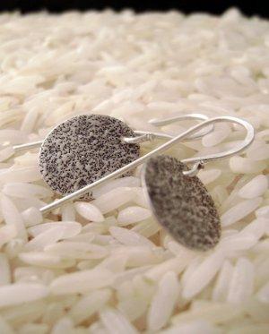 Night Smashing - sterling silver earrings