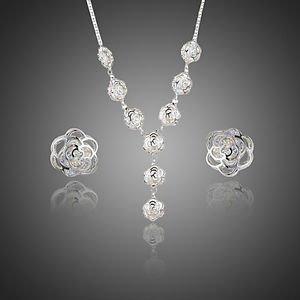 Wedding Jewellery Set Bridal Jewellery Set Stellux Austrian Crystal Necklace Set