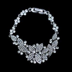 Crystal Bridal Bracelet CZ Bridal Bracelet Crystal Bracelet Wedding Bracelet