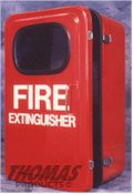 Thomas Products Model Feb-25 Fire Extinguisher Cabinet