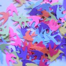 colorful bird confetti party supplies paper confetti wedding supplies
