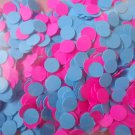 blue and pink confetti party supplies wedding supplies baby shower confetti gender reveal