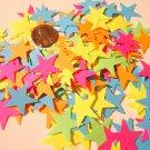 Neon Star confetti confetti stars wedding supplies and party supplies party confetti