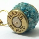 Bullet casing gemstone wheel