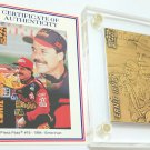 Ernie Irvan collectors bronze card