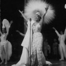 Josephine Baker singing.  - 8x10 photo
