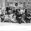 Dean Martin and Frank Sinatra with friends posing.  - 8x10 photo