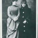 Sarah Bernhardt and Lillie Langtry - 8x10 photo