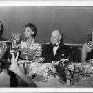 Josephine Baker having drink with friends.  - 8x10 photo