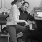 Sylvia Lopez playing piano. - 8x10 photo