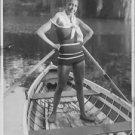 Josephine Baker standing boat.  - 8x10 photo
