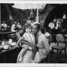 Josephine Baker with a child.  - 8x10 photo