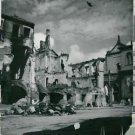 World War II. Bomed Warsaw - 8x10 photo