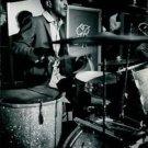 Sammy Davis Jr. playing drum.  - 8x10 photo