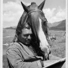 Clark Gable with horse. - 8x10 photo