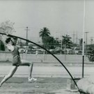 Bob Seagren during pole vaulting.- May 1966 - 8x10 photo