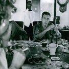 Raymond Burr having a meal. - 8x10 photo