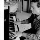 Georges Cziffra playing piano. - 8x10 photo