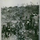 Turkish artillery escape from Luleburgaz when Turks defeated by Bulgarian. 1912