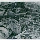 U.S. Forces Cross Roer River in New Drive.1945 - 8x10 photo