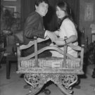 Paul and Talitha Getty. - 8x10 photo