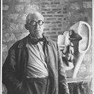 Le Corbusier standing. - 8x10 photo